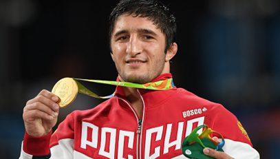 Мутко о чемпионе Садулаеве: «Настоящий борец, красавец мужчина»