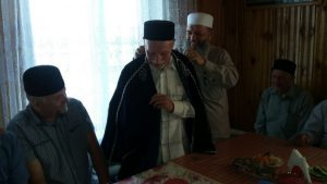 Муфтии Мухаммад Рахимов и Адельша Юнкин