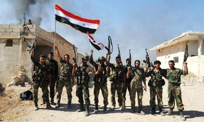 Китай протянул руку помощи сирийским силовикам