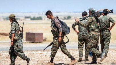 В Сирии произошло крупное столкновение между турками и курдами