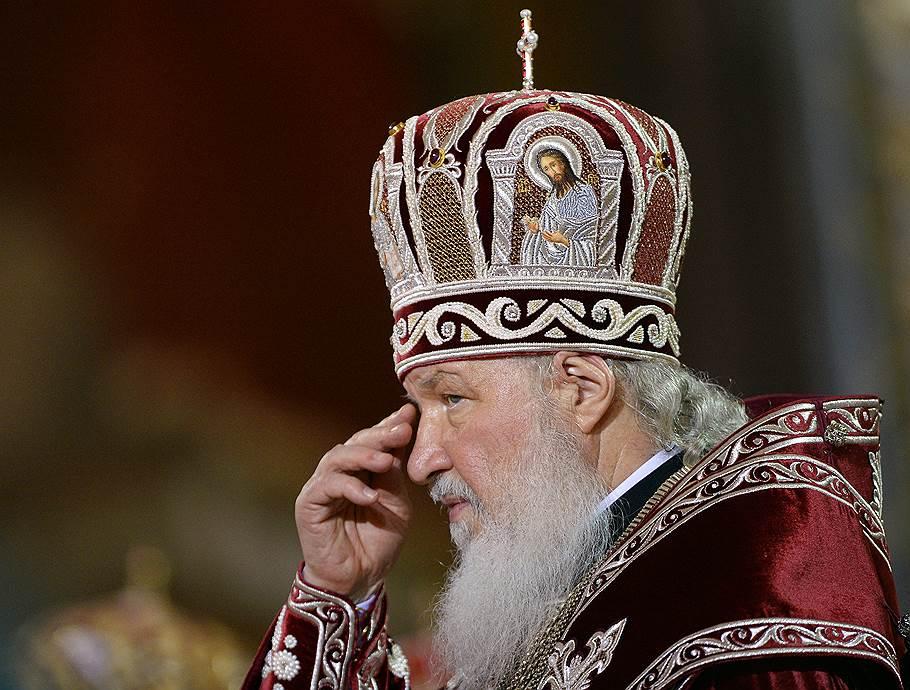 Патриарх Кирилл. Фото: «Коммерсант»