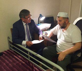 Арестованный имам Велитов обратился к российским муфтиям