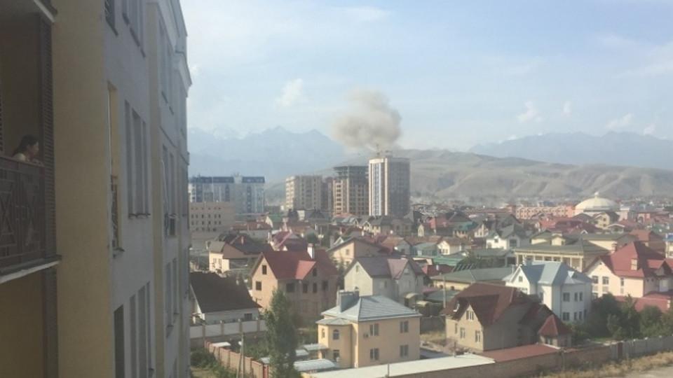 Взрыв впосольстве Китая совершил террорист-смертник— Вице-премьерКР