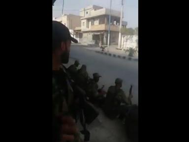 Сирийская свободная армия при поддержке Турции вошла в центр Джераблуса (ВИДЕО)
