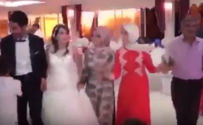 «Свадебный» теракт в Турции попал на видео
