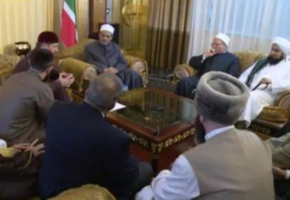 Кадыров провел встречу с шейхом Аль-Азхара