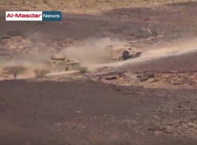 Саудовских солдат в самый неподходящий момент подвел грузинский броневик (ВИДЕО)