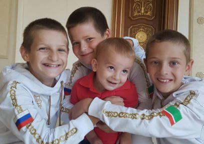 Сыновья Кадырова поразили иранских борцов