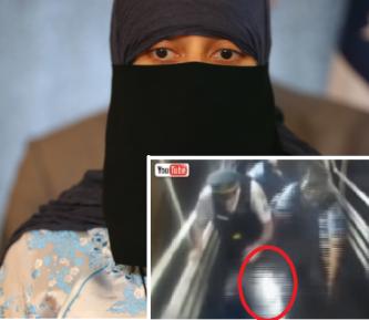 Мусульманка, догола раздетая полицейскими, поступила по букве закона