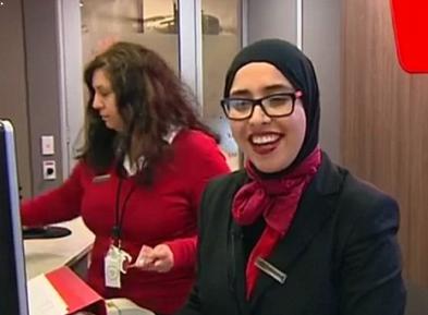 Крупный банк покроет сотрудниц хиджабами