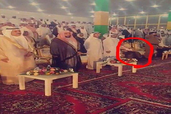 Ауд аль-Карни отказаля почтить гимн всаванием
