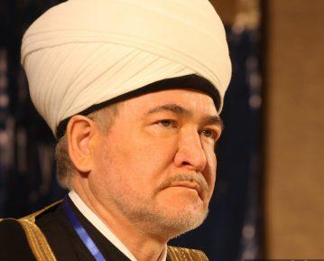 Муфтий Гайнутдин сделал заявление по исламофобии и противодействию строительству мечетей