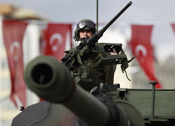 Турция отгораживается отСирии каменным забором— Дети Китайской стены