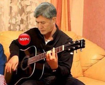Президент Киргизии выпустил новый музыкальный хит (ВИДЕО)