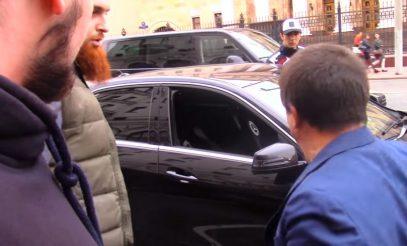 Клянусь Аллахом, я тебя порежу. Мусульманская разборка в центре Москвы (ВИДЕО)