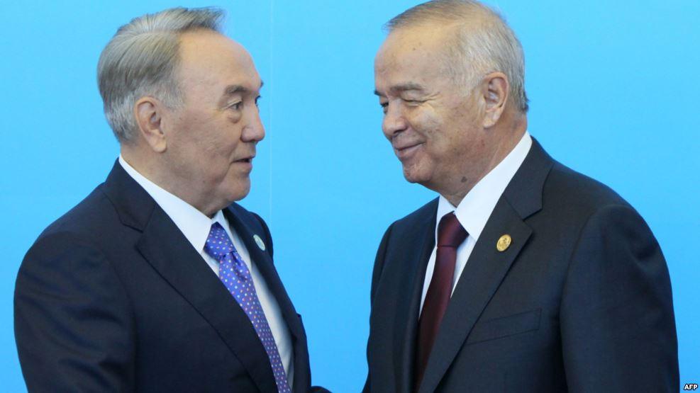 Назарбаев и Каримов