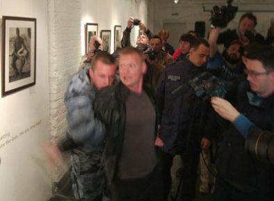 На выставке вдохновителя педофилов в Москве не пожалели мочи