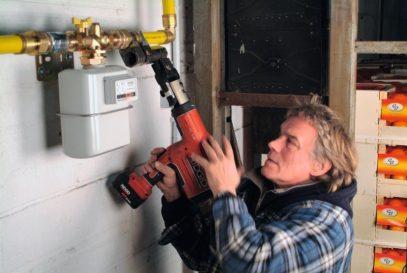 Газовые трубы в квартире и частном доме