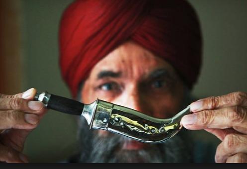 Кирпан - сикхский ритуальный нож