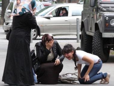 Мусульманка в хиджабе расстреляна в собственном автомобиле