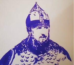 Портрет Кадырова художница написала грудью