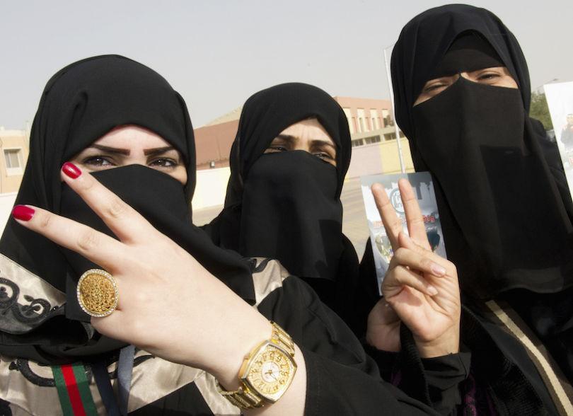 ВСаудовской Аравии женщины требуют отменить опеку состороны мужчин