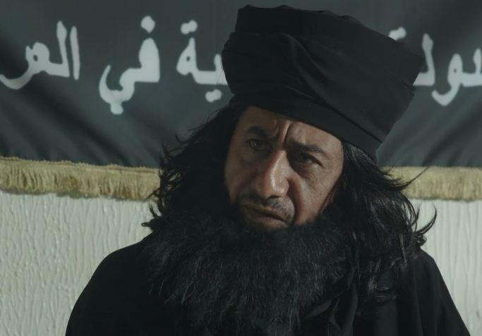 Насыр аль-Касаби в роли игиловца
