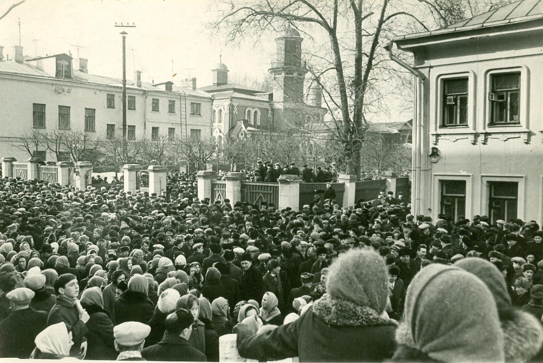 СССР: как сотрудники мечети жаловались на прихожан
