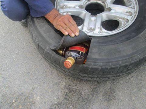 Так, пытались провести алкоголь в Саудовскую Аравию