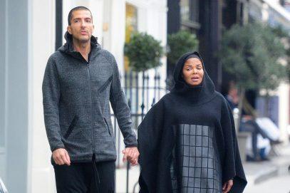 Джанет Джексон замечена в Лондоне в хиджабе