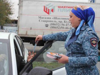 Ингушская женщина-полицейский в хиджабе произвела фурор