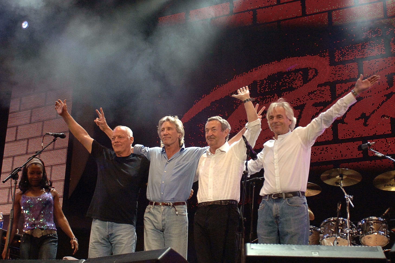 Рок-группа Pink Floyd