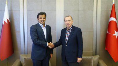 Прошла закрытая встреча лидеров Турции и Катара