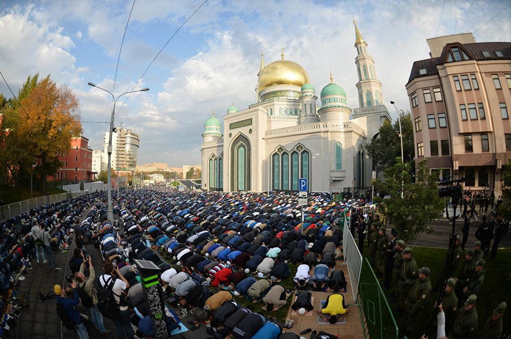 В столицеРФ появится новая мечеть