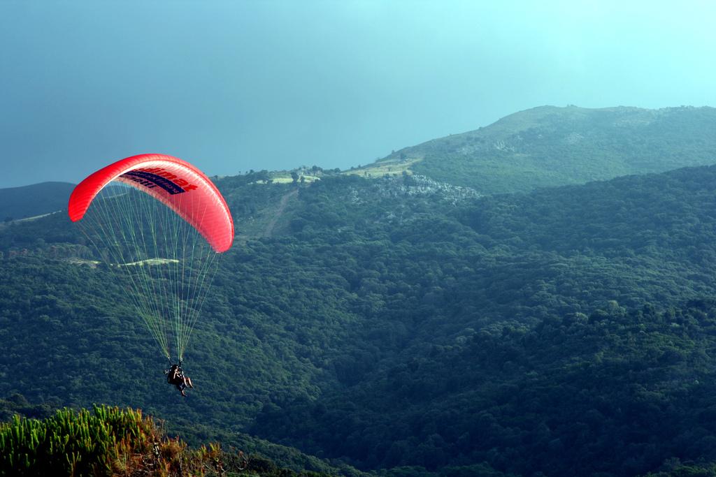 """Незабываемые ощущения от прыжков с парашютом в """"Skycenter DZ Пущино"""""""