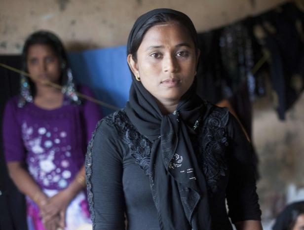 Женщины рохинья