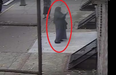 Мусульманка ввергла в ужас прихожан синагоги (ВИДЕО)