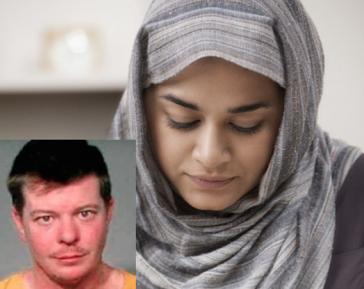Срыватель хиджаба получил по полной