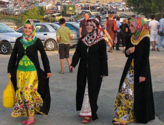 Греческие мусульманки