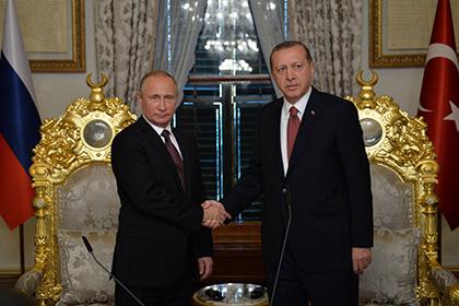 Владимир Путин и Реджеп Тайип Эрдоган Фото: Алексей Дружинин / РИА Новости