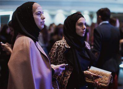 Хиджабы проникают в российский бомонд (ФОТО)