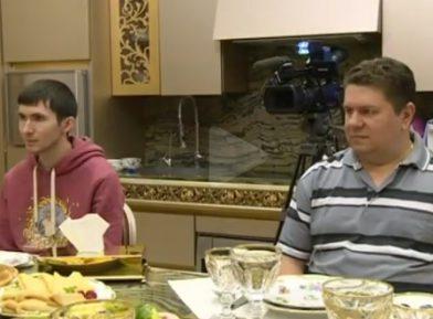 Освобожденные Чечней русские моряки встретились со спасителями