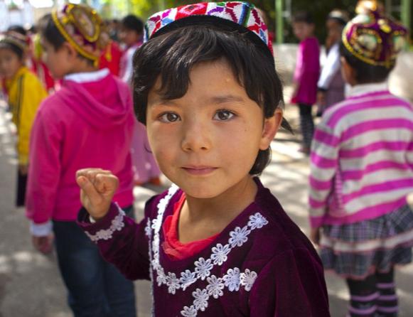 Уйгурская девочка