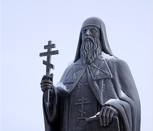 Памятник православному миссионеру