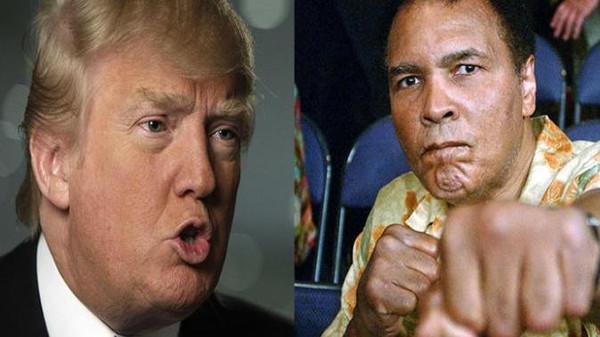 Али и Трамп – дружба длиною в 35 лет (ФОТО)