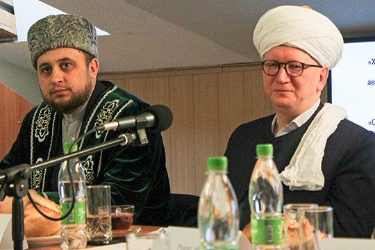 Фарид Салман (справа) и  Рустам Хайруллин