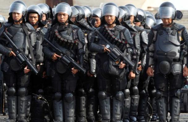 Индонезийский спецназ