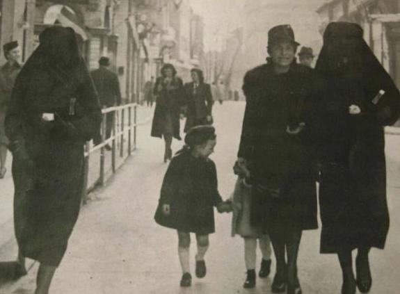 Исторический кадр мусульманско-иудейской дружбы
