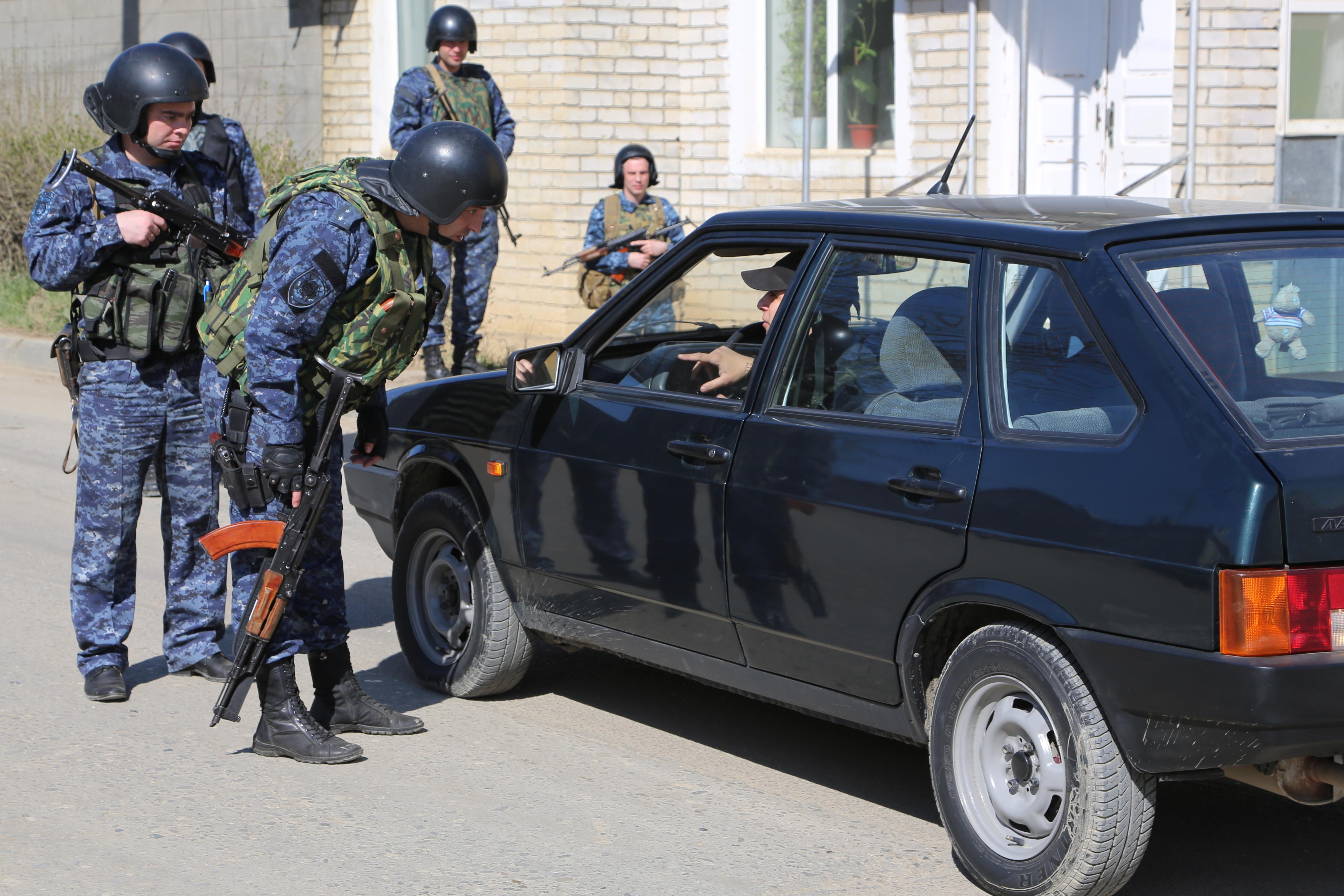 Полиция Дагестана проводит оперативные мероприятия