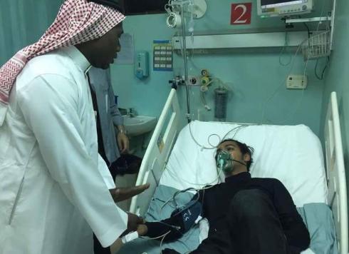 Госпитализированный охранник Ахмед